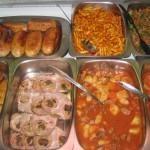 vitrina comidas